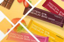 Фаберлик — глазированные батончики Protein Premium Bar