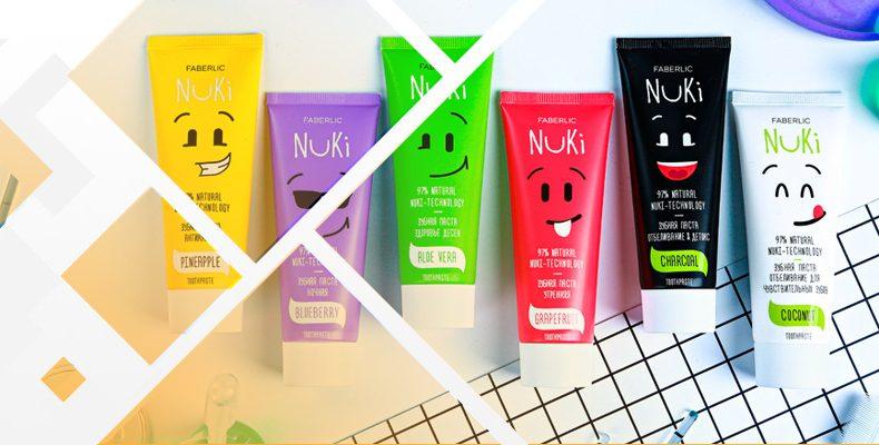 Фаберлик зубные пасты – Nuki