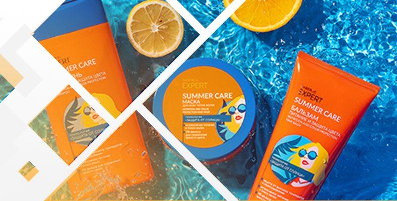Фаберлик – средства защита волос Expert Summer care