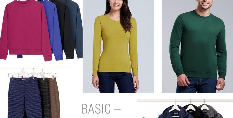 Базисная коллекция одежды Фаберлик